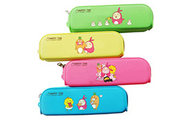 Existing Mold Silicone Cute Pencil Case with